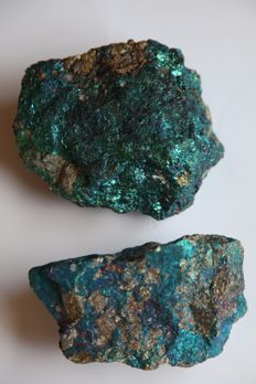 "Large pieces of Bornite aka ""Peacock Pyrite"" of high quality - 3360 g (2)"