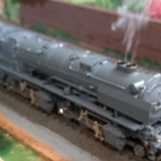 "Märklin H0 - 3701 - steam locomotive BR53 ""Mallet"" of the DB - hardly used, equipped with double smoke generator"
