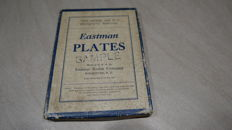 Kodak Eastman Plates, never opened, 30's