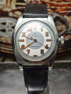 1952 Rolex - Bubble Back Oyster Perpetual - 6050- Men's Watch