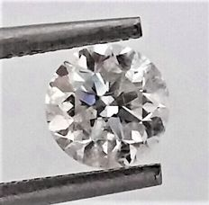 Round Brilliant Cut  - 1.04 carat - D color - SI1 clarity- Comes With AIG Certificate + Laser Inscription On Girdle