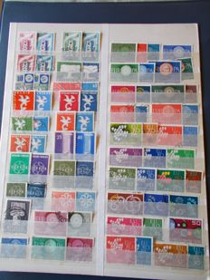 Europe CEPT, stamps, first day covers, sheetlets and mini-sheets