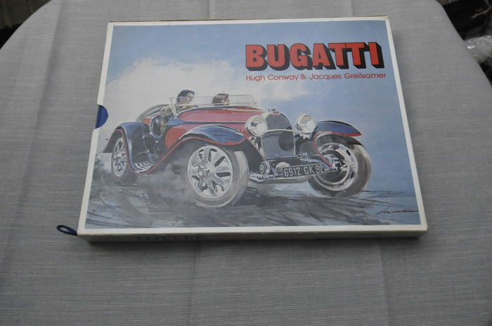 Bugatti book of Hugh Conway & Jacques Greilsamer - Editions Modelisme - 1978