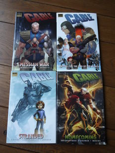 Marvel Comics - Cable Vol. 2 - Complete Set Of 4x Hardcovers (2008/2010)
