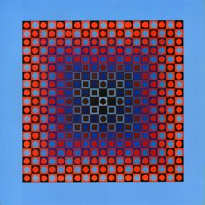 Victor Vasarely - Planetary folklore (two works)