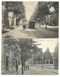 Collection of postcards Dordrecht 122 x