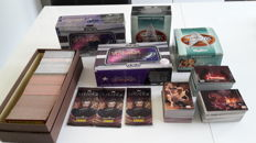Star Trek, Star Wars, James Bond Cards + 2 Sky-boxen Sealed + 3 Boosters