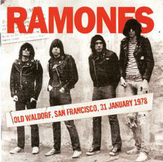 3 Live Albums of The Ramones, 2 Lp It's Alive 180 Grams, Ramones ‎– Old Waldorf, San Francisco, 31 January 1978 180 Grams, Live In Buffalo, February 8, 1979 180 Grams