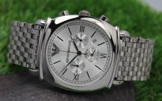 Emporio Armani - Mens Stainless Steel - Chronograph Watch - Unworn