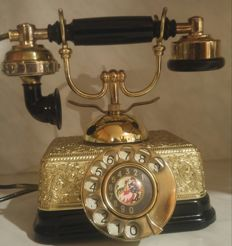 French Victorian Princess Style Rotary Phone