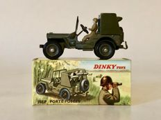 Dinky Toys-France - Scale 1/43 - Jeep Porte-Fusées SS10 No.828