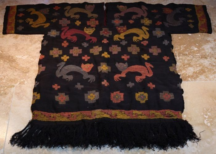 Chimu  Embroidered Tunic 107 cm