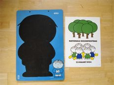 Dick Bruna; Poster Nationale Boomfeestdag & blackboard - 1980 / 1994