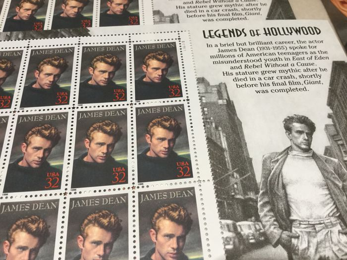 Usa Complete Vellen James Dean Marilyn Monroe Elvis Presley