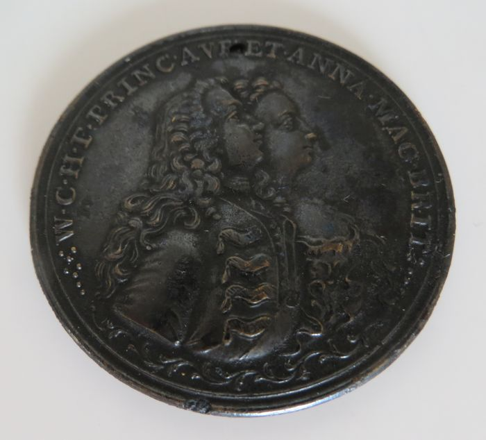 The Netherlands - Medal 1747 Stadtholder Willem IV - bronze
