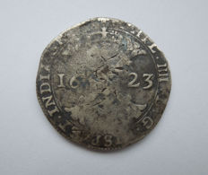 Duchy of Brabant - Patagon 1623 Philip IV (1621-1665) - silver.