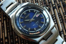 """SEIKO """"Bell-Matic"""" (4006-6040) Mechanical """"Alarm"""" Men's Automatic Watch - Vintage Year 1976"""