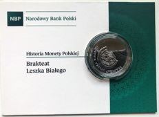 Poland - 10 Zloty 2014 'Leszek the White - Bracteate' - silver