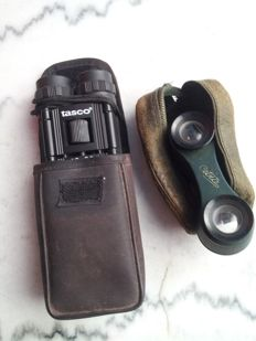 Lot consisting of 2 binoculars - one theatre Cetra binoculars from the 60s