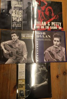 Five albums of Bob Dylan || Limited edition || Sealed