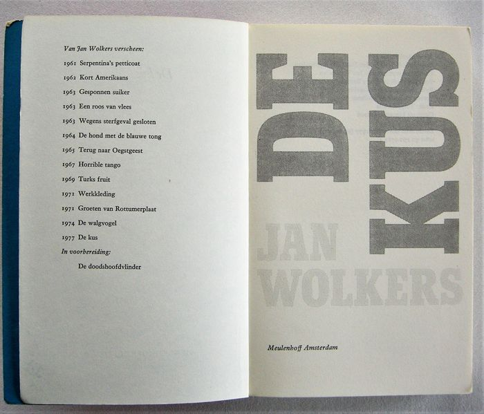 Jan Wolkers Lot With 12 Publications 1965 2005 Catawiki