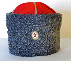 Soviet General's astrakan hat Papakha
