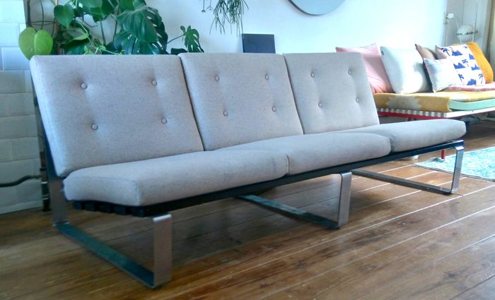Kho Liang Ie for Artifort - three-seat bench