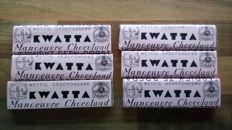 Decoration Kwatta bars Mancouvre Chocolaad 1940 Breda