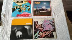 A very nice lot of 12 LP's with some of the best pop-rock and new Wave bands of the 70's and 80's