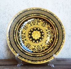 Rosenthal - Versace Floralia Gold collectible plate