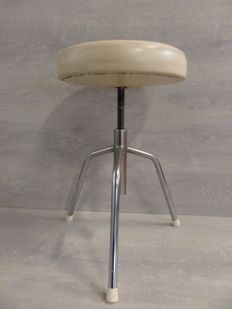 Designer unknown - Industrial swivel stool