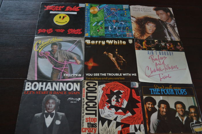 "54 ""dance""singles of the late 70's and 80's, Let dance"