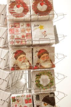 Lot of more than 240 packs of Christmas napkins + Carousel