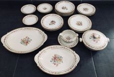 Raynaud & Co Limoges, house Ritzen 27 pieces Porcelain set