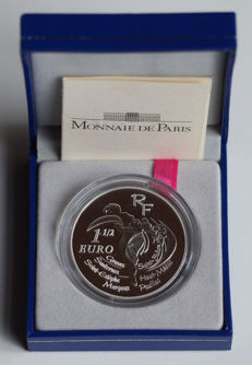"""France - 1½ Euro 2005 """"150 years of classification of Bordeaux wines"""" - silver"""