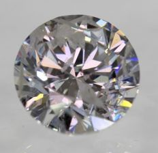 0.50 ct diamond SI3/F