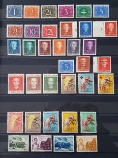 Netherlands New Guinea 1950/1962 - Complete collection including postage due and UNTEA + FDC
