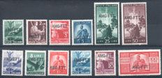 Trieste A  1947/'51 AMG-FTT Lot of complete series