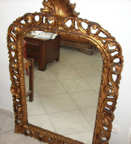 Fireplace mirror - France - early 20th century