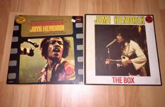 Jimi Hendrix Box - The Box  (Rare 6-LP Vinyl Box Set) + Experience Memorial Album Jimi Hendrix LP