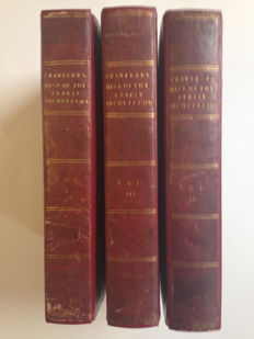 Indonesia; Indian Archipelago; John Crawfurd - History of the Indian Archipelago - Complete in 3 vols. - 1820