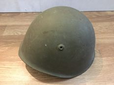 Helmet issued to the Polish or Czechoslovakian army - Post-WWII