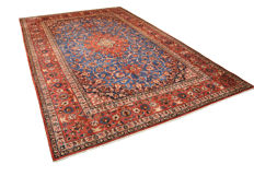 Hand-knotted Persian carpet - Isfahan - approx. 392 x 264 cm - Iran
