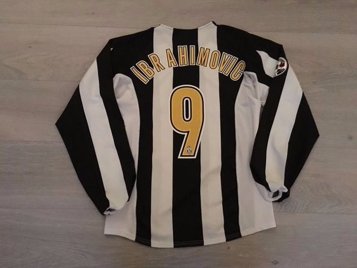 new styles 2794a 925ad Juventus home shirt - Legend Zlatan Ibrahimovic 9 - 2004 ...