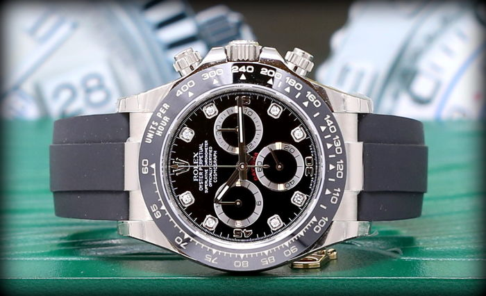 rolex daytona 116519ln diamond new 2017 men 2011. Black Bedroom Furniture Sets. Home Design Ideas