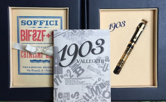 Vallecchi 1903 - gold ans sapphires, limited edition of 100 copies