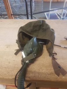 VS Cloth pilot Flight Helmet  GENTEX SPEC. MIL H-7151 Vietnam War Era