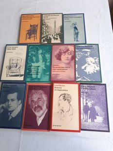 Privé-domein; Lot with 11 volumes - 1978 / 2017