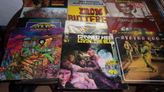 lot of 4 LP of Jimi Hendrix, 3 of Status quo ,3 of Iron Butterfly  and Canned heat
