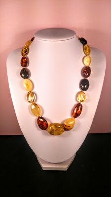 Baltic Amber necklace, length 47 cm, 35 grams